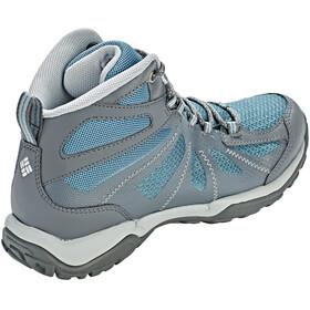 Columbia Peakfreak XCRSN II XCEL Mid Outdry Naiset kengät , harmaa/petrooli